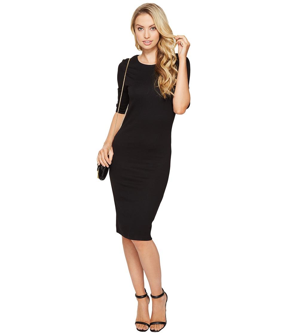 ONLY Bella Short Sleeve Dress (Black) Women