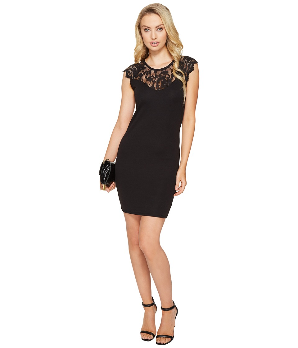 ONLY - Elenta Short Dress (Black) Women's Dress