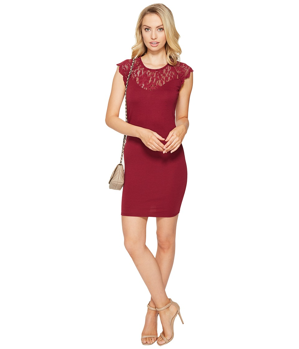 ONLY Elenta Short Dress (Rhododendron) Women