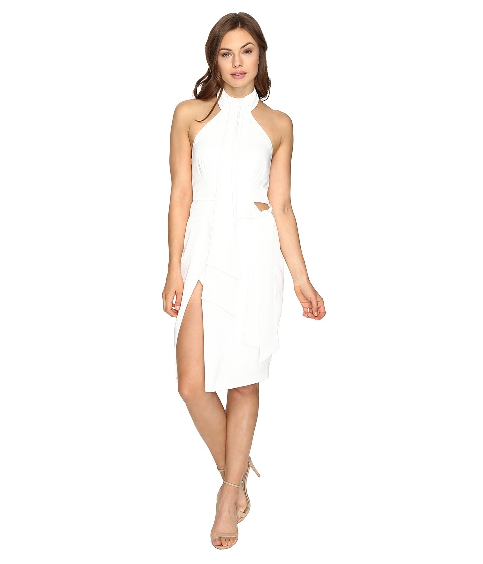 StyleStalker - Delta Midi Dress (Blanc) Women's Dress