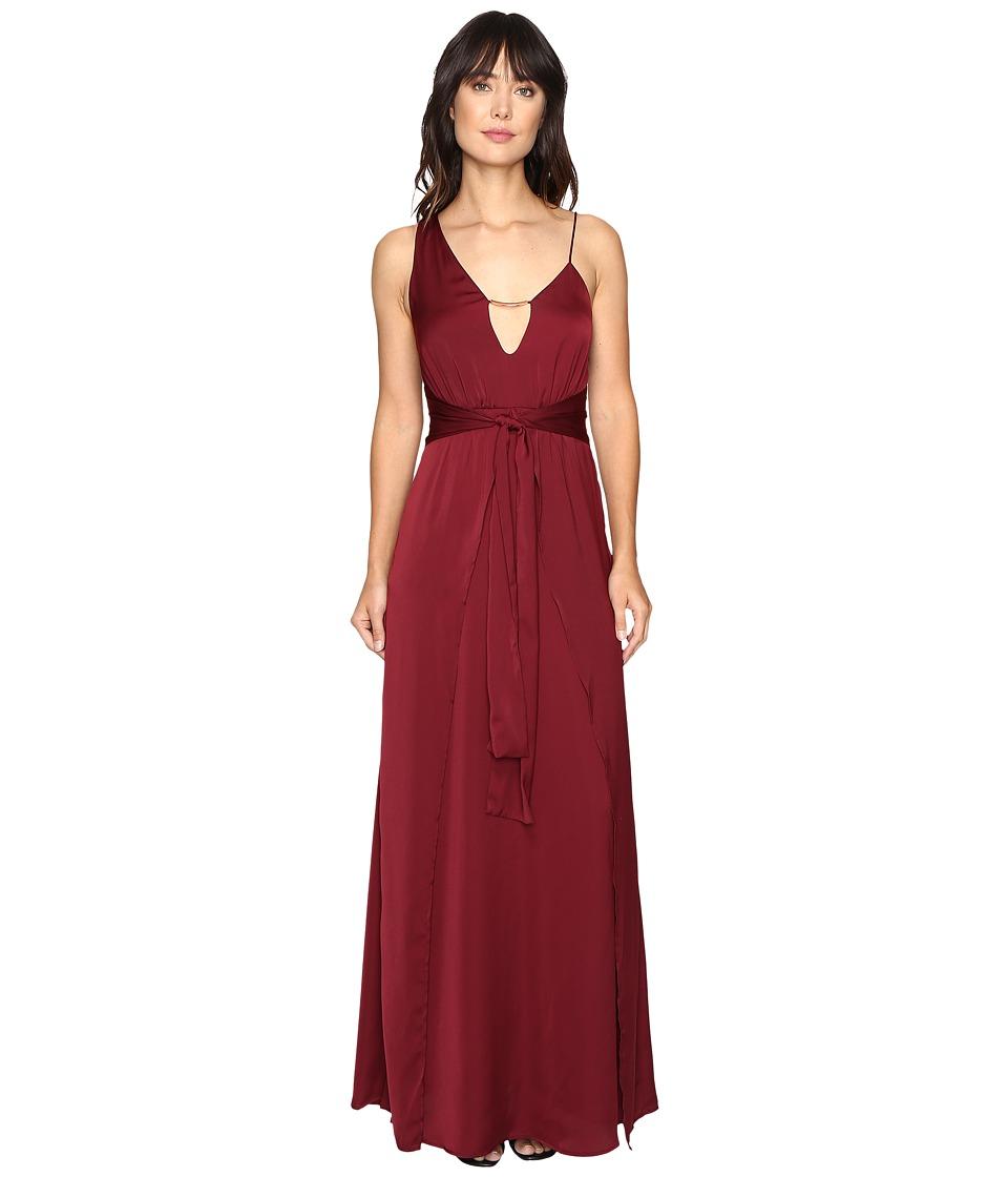 StyleStalker - Kesen Maxi (Aubergine) Women's Dress