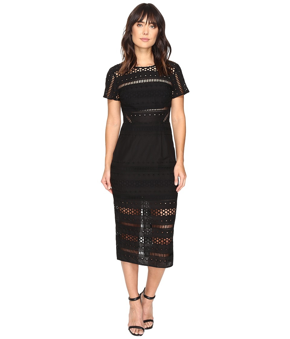 StyleStalker - Venice Midi Dress (Noir) Women's Dress