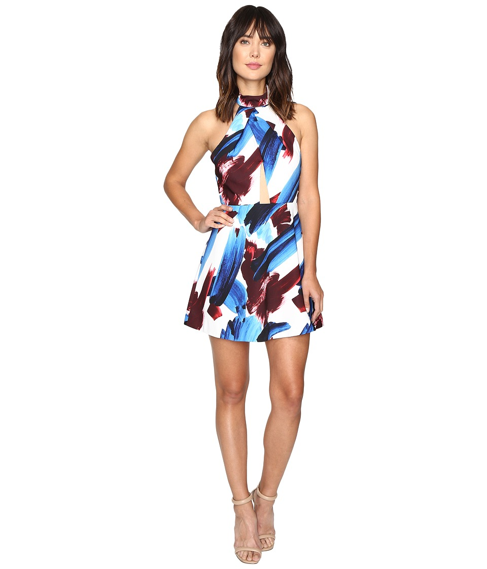 StyleStalker - Halley A-Line Dress (Halley Print) Women's Dress