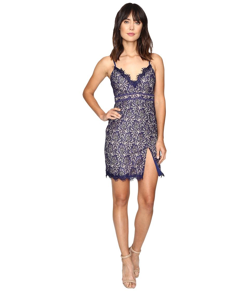 StyleStalker - Adelie Mini Dress (Neptune) Women's Dress