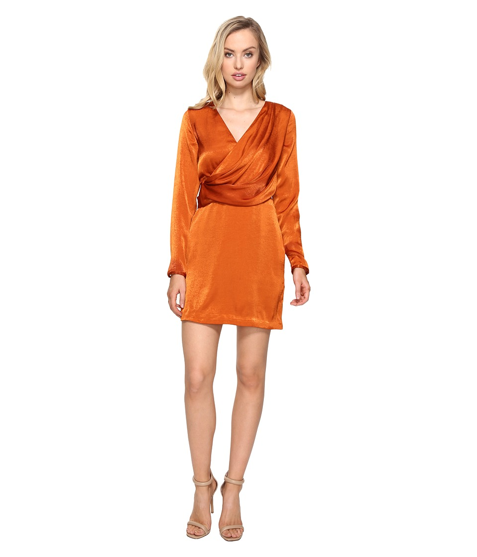 StyleStalker Erick Long Sleeve Dress (Copper) Women
