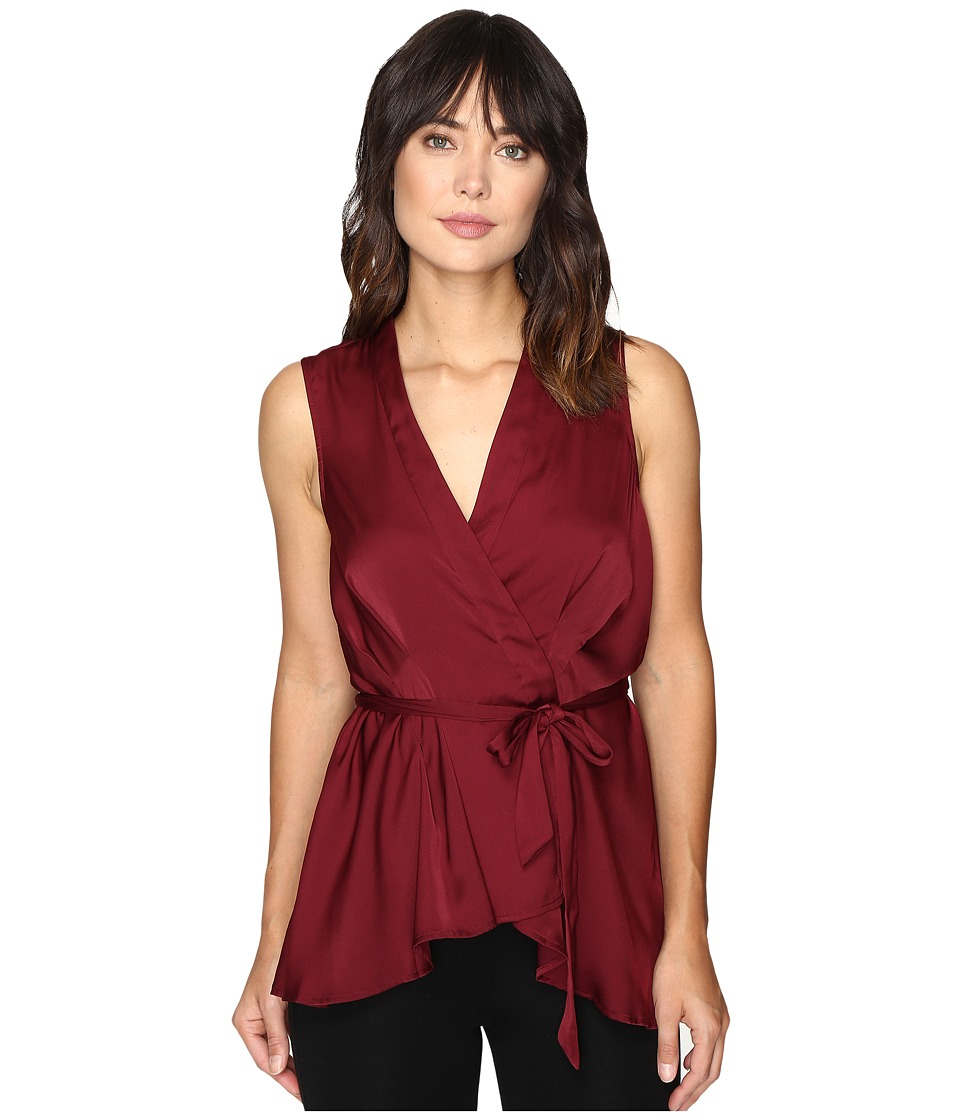 StyleStalker - Kesen Top (Aubergine) Women's Clothing