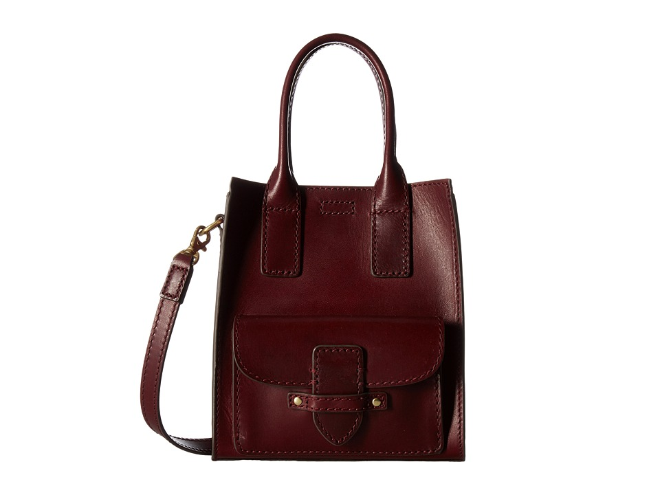Frye - Casey Mini North/South Tote (Wine) Tote Handbags