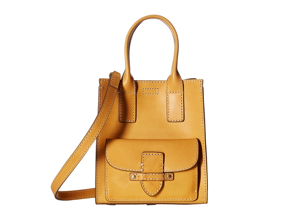 Frye - Casey Mini North/South Tote (Yellow) Tote Handbags