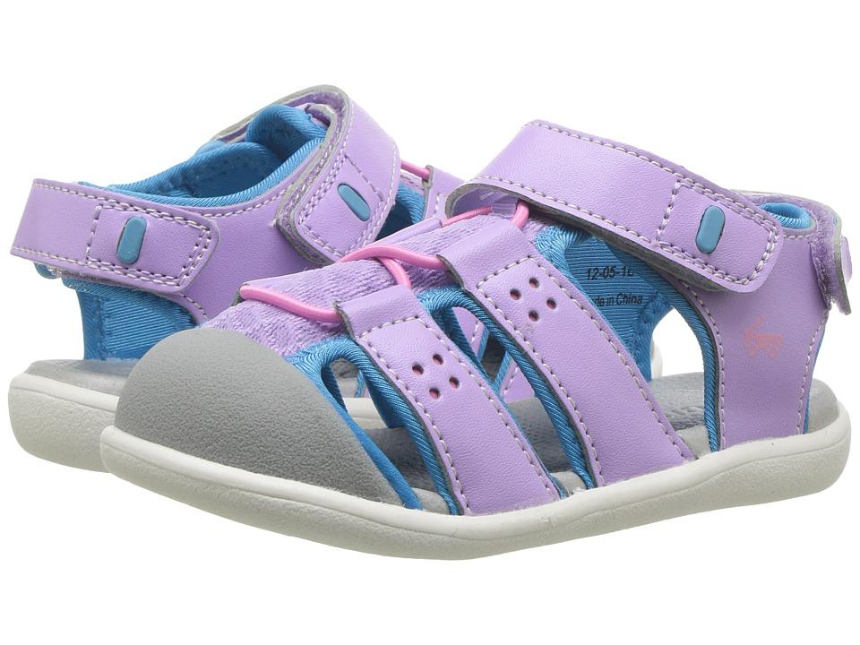 See Kai Run Kids Lincoln II (Toddler) (Lavender) Girl