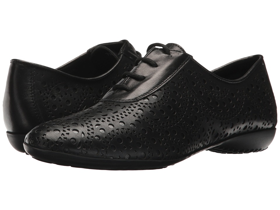 Sesto Meucci - Balin (Black Nappa/Black Patent) Women's Shoes
