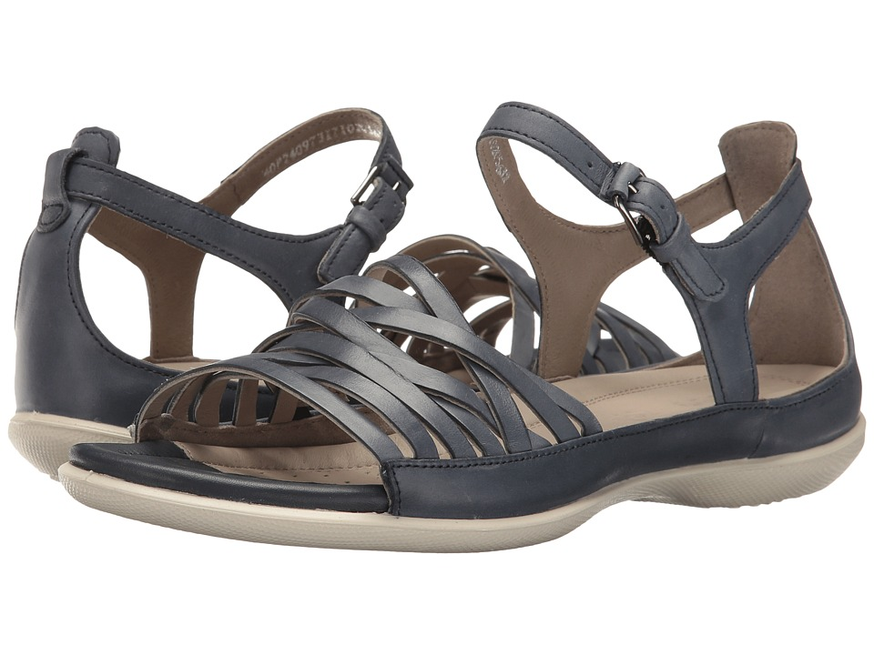 ECCO - Flash Lattice Sandal (Marine Cow Nubuck) Women's Sandals