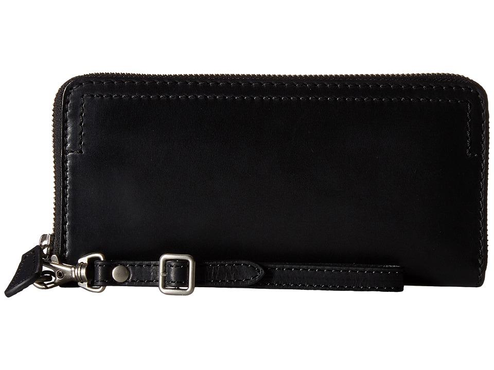 Frye - Casey Wristlet (Black) Wristlet Handbags