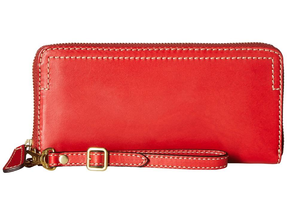 Frye - Casey Wristlet (Red) Wristlet Handbags