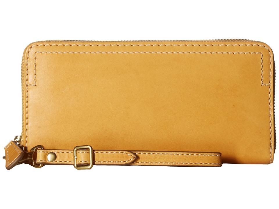 Frye - Casey Wristlet (Yellow) Wristlet Handbags
