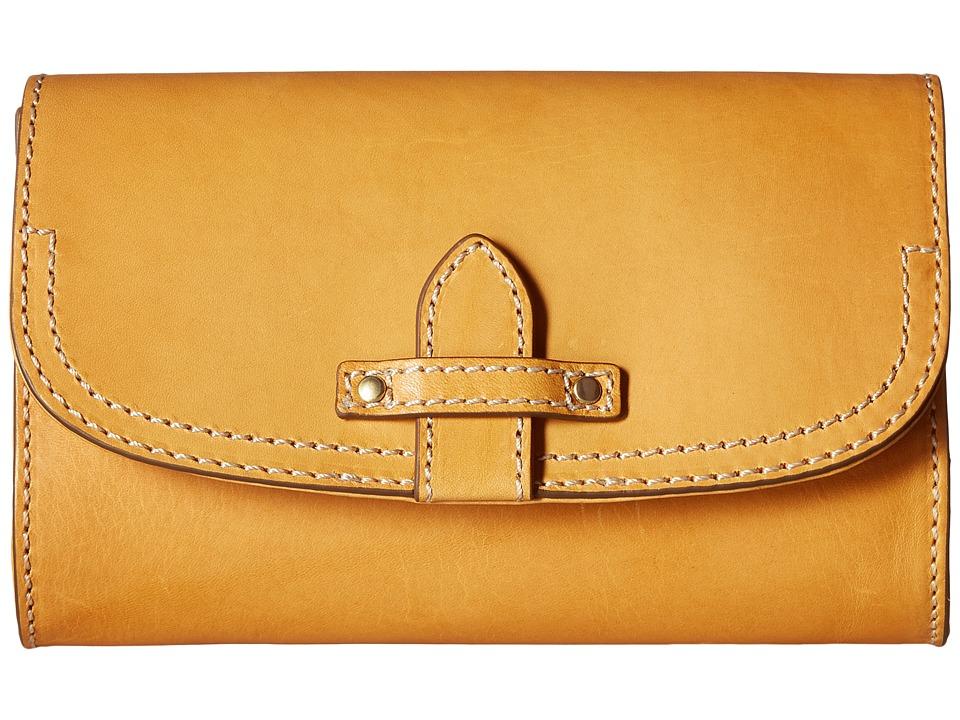 Frye - Casey Wallet Crossbody (Yellow) Cross Body Handbags