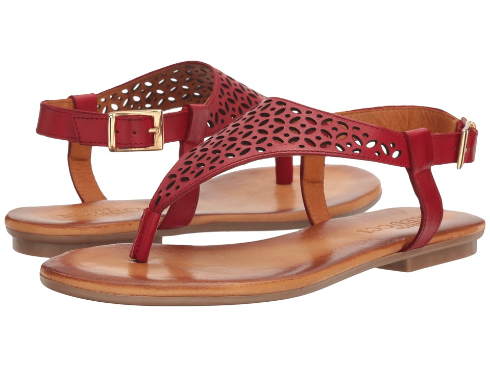 Sesto Meucci - Bamboo (Red Vaquetilla) Women's Sandals