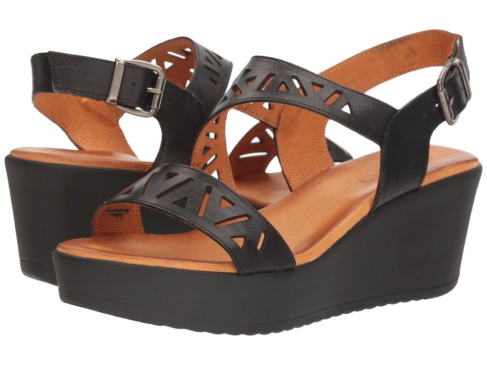Sesto Meucci - Bard (Black Vaquetilla) Women's Sandals
