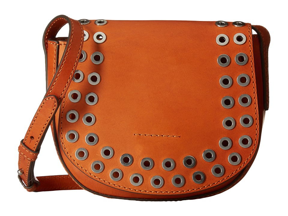 Frye - Cassidy Saddle (Orange) Handbags