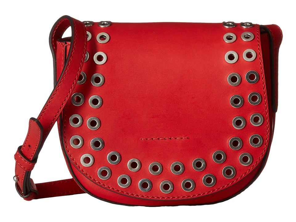 Frye - Cassidy Saddle (Red) Handbags
