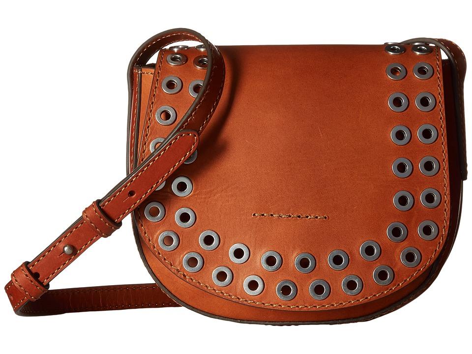 Frye - Cassidy Saddle (Rust) Handbags