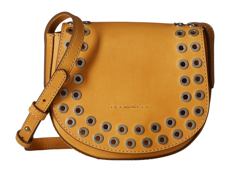 Frye - Cassidy Saddle (Yellow) Handbags