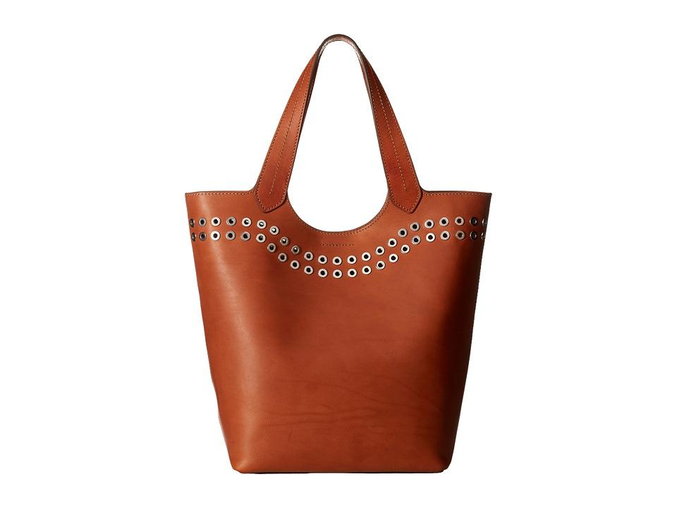 Frye - Cassidy Tote (Rust) Tote Handbags