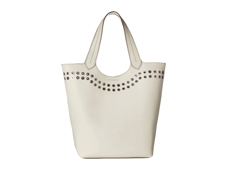 Frye - Cassidy Tote (White) Tote Handbags