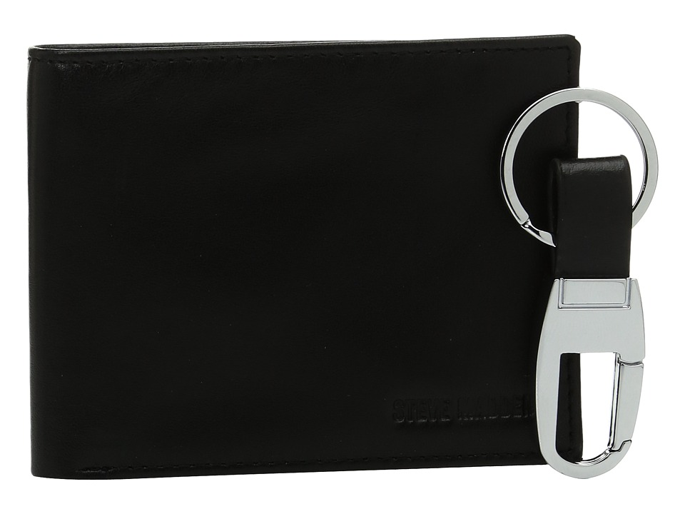 Steve Madden - Glove Wallet with Black Fob (Black) Wallet Handbags