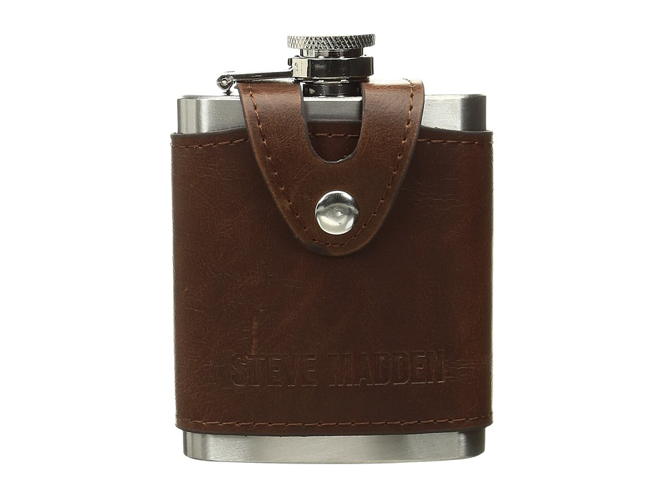 Steve Madden - Tiny Executive Flask (Brown) Wallet