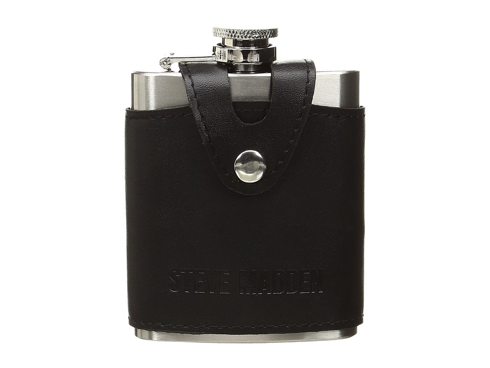 Steve Madden - Tiny Executive Flask (Black) Wallet
