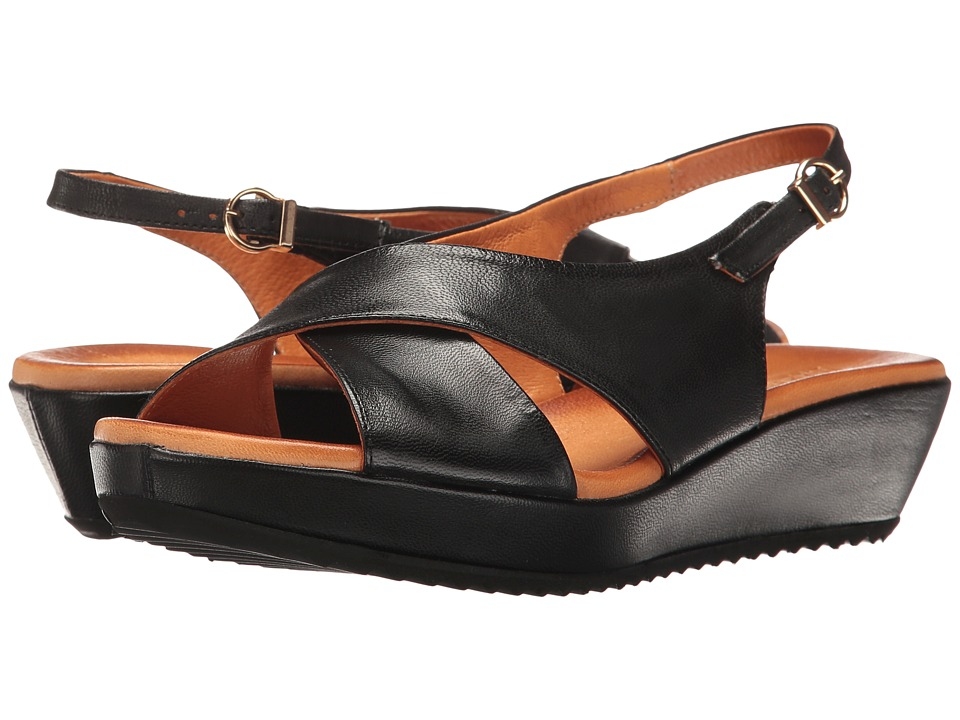 Sesto Meucci - Bean (Black Cera) Women's Sandals