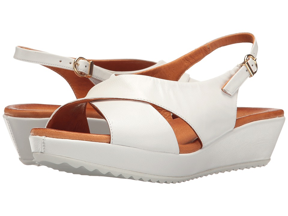 Sesto Meucci - Bean (White Cera) Women's Sandals