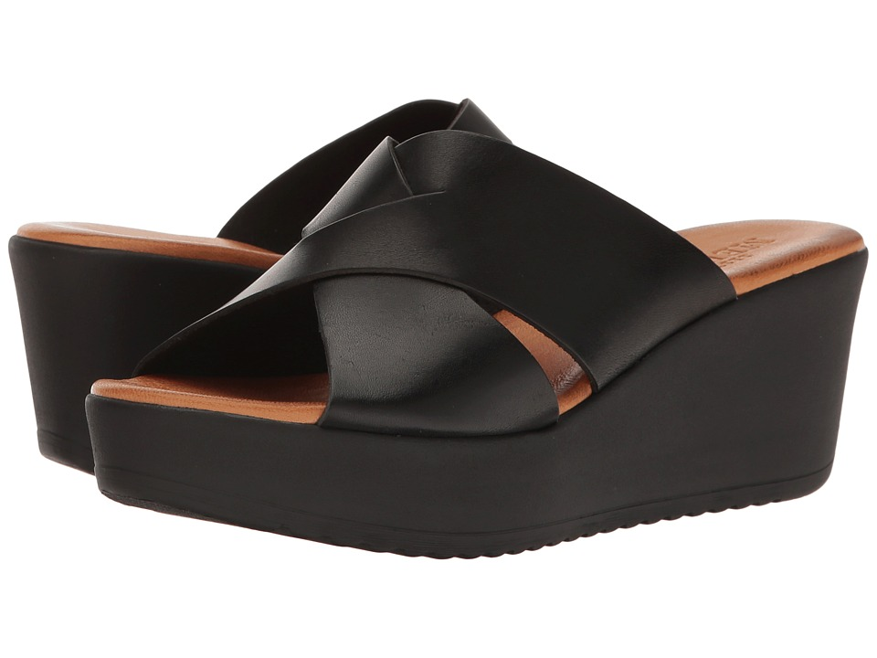 Sesto Meucci - Basia (Black Cera) Women's Sandals