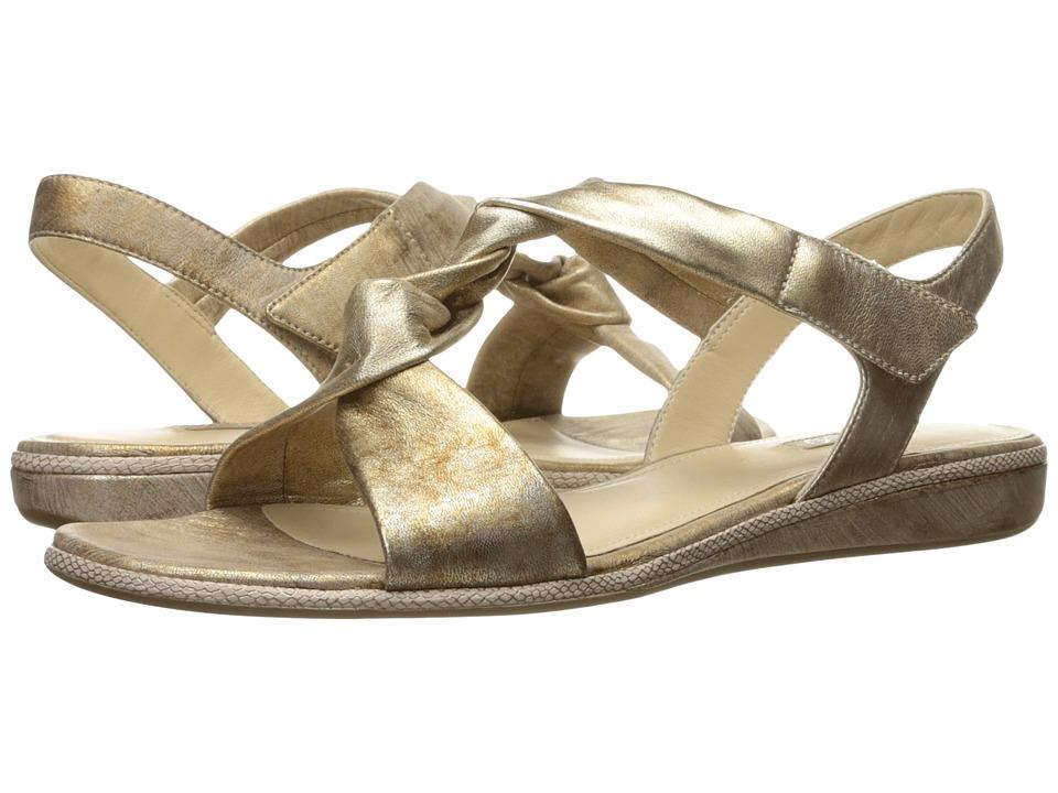 ECCO - Bouillon Sandal 3.0 (Gold Sheep Leather) Women's Sandals