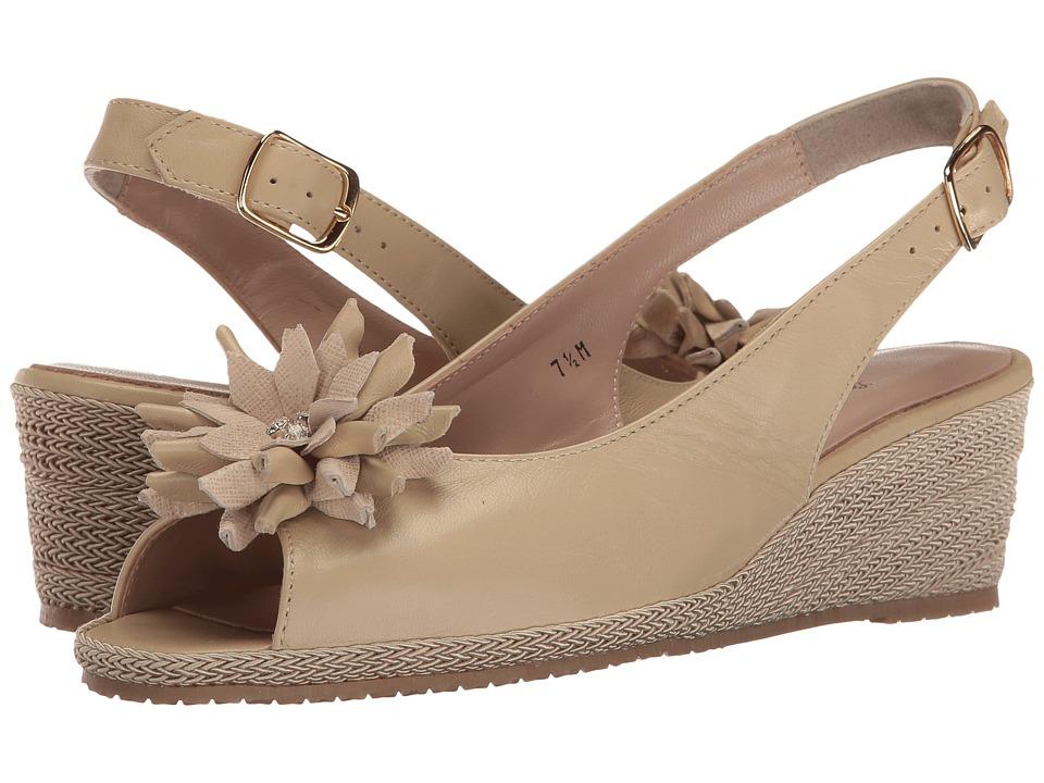 Sesto Meucci - Bobby (Sabbia Nappa/Sabbia Cartizze Bow) Women's Sandals