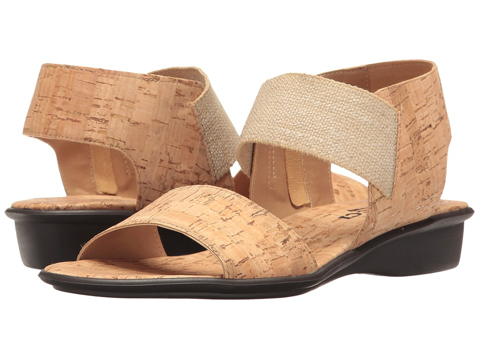 Sesto Meucci - Eirlys (Natural Cork/Natural Linelast) Women's Sandals