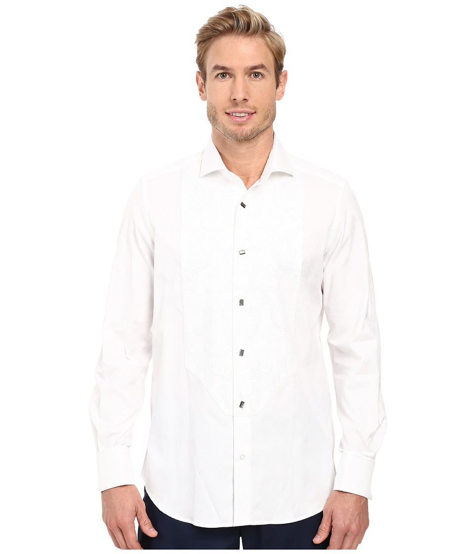 Robert Graham - Lord Dress Shirt (White) Men's Long Sleeve Button Up