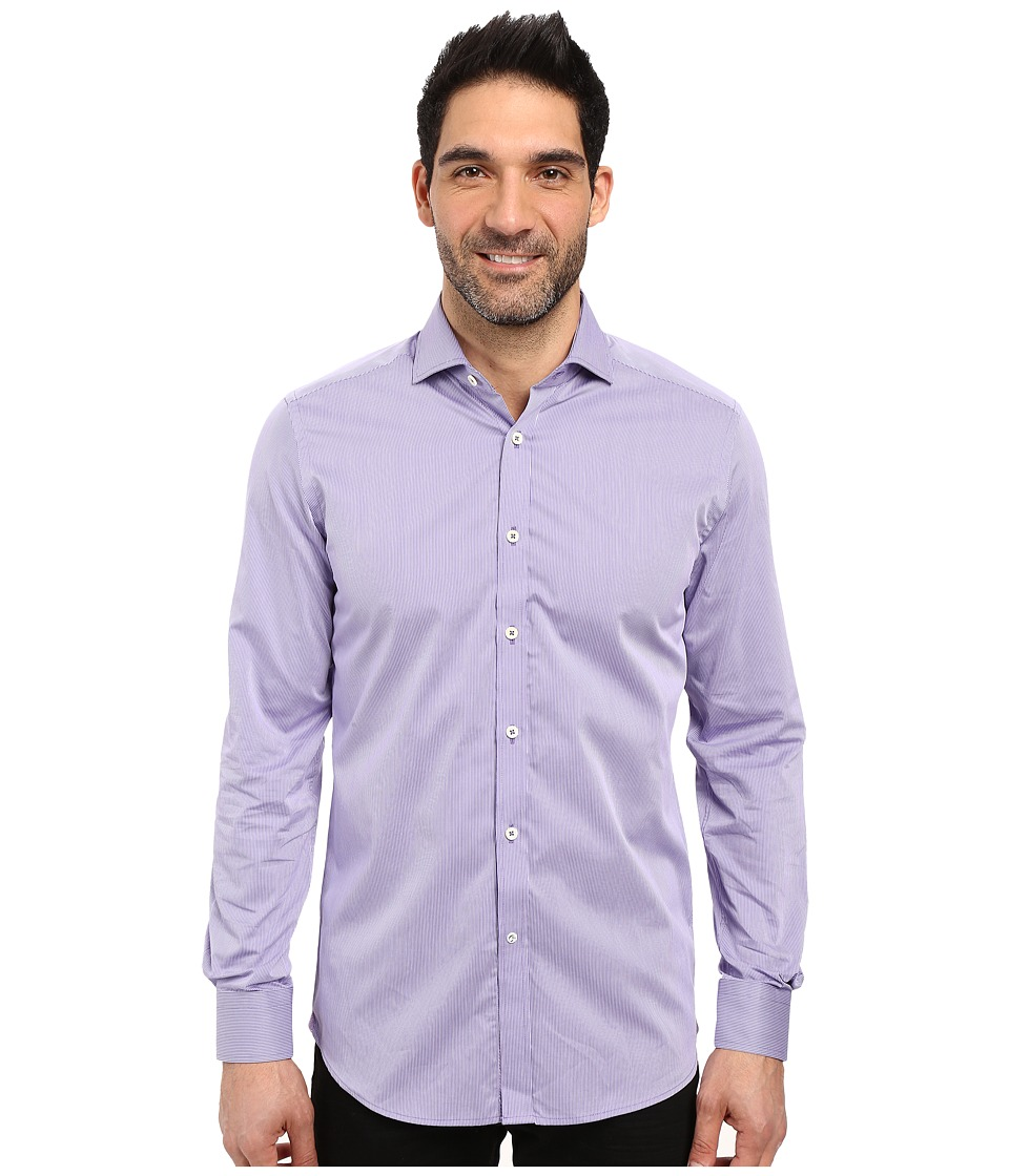 Robert Graham - Forli Dress Shirt (Purple) Men's Long Sleeve Button Up