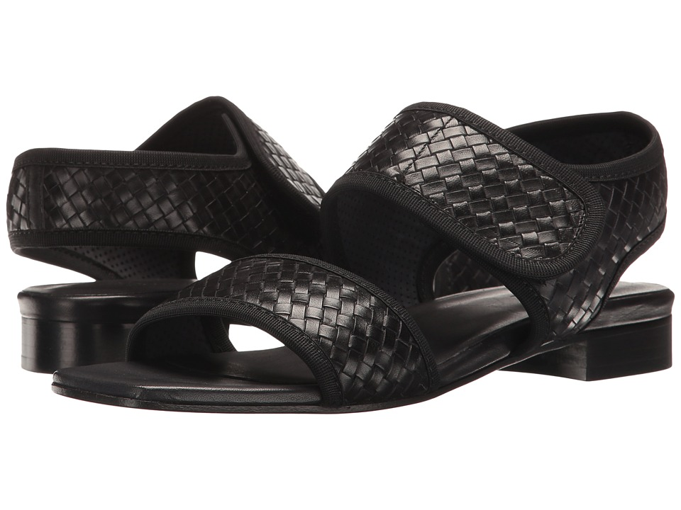 Sesto Meucci - Galt (Black Stained Calf) Women's Sandals