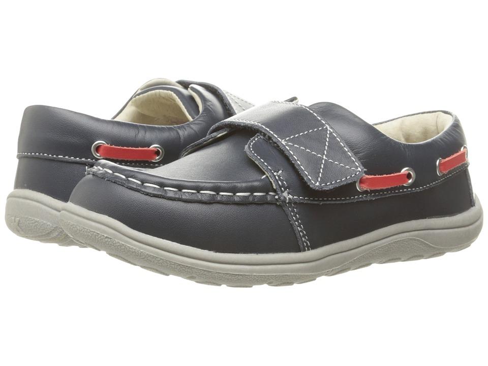 See Kai Run Kids - Milton (Toddler/Little Kid) (Navy) Boy's Shoes