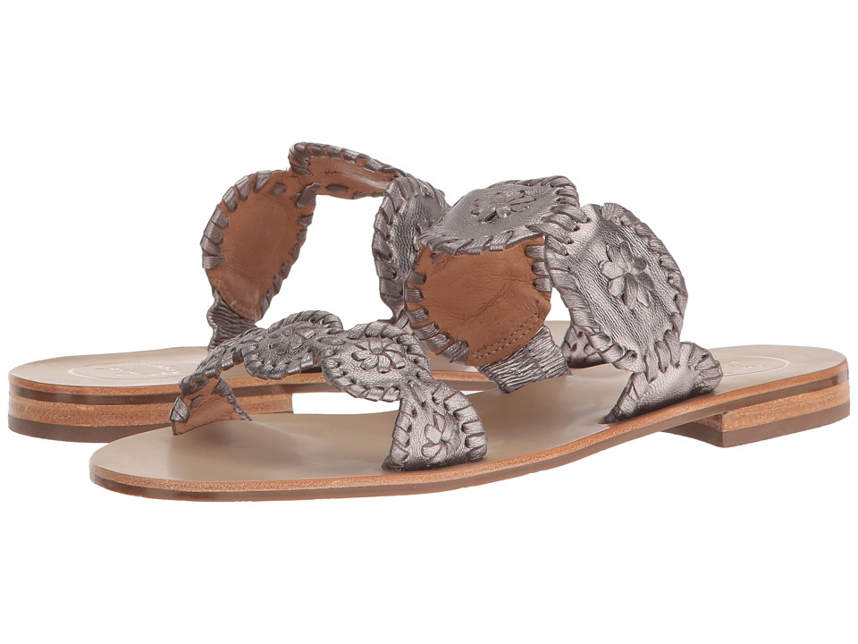 Jack Rogers Lauren (Pewter) Women