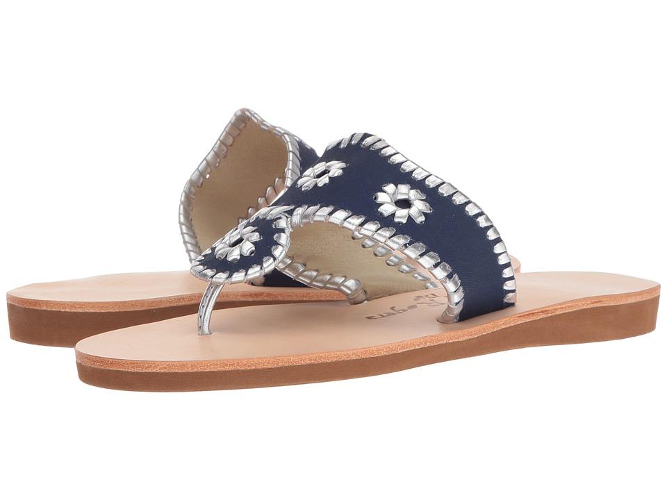 Jack Rogers - Boating Jacks (Midnight/Silver) Women's Sandals