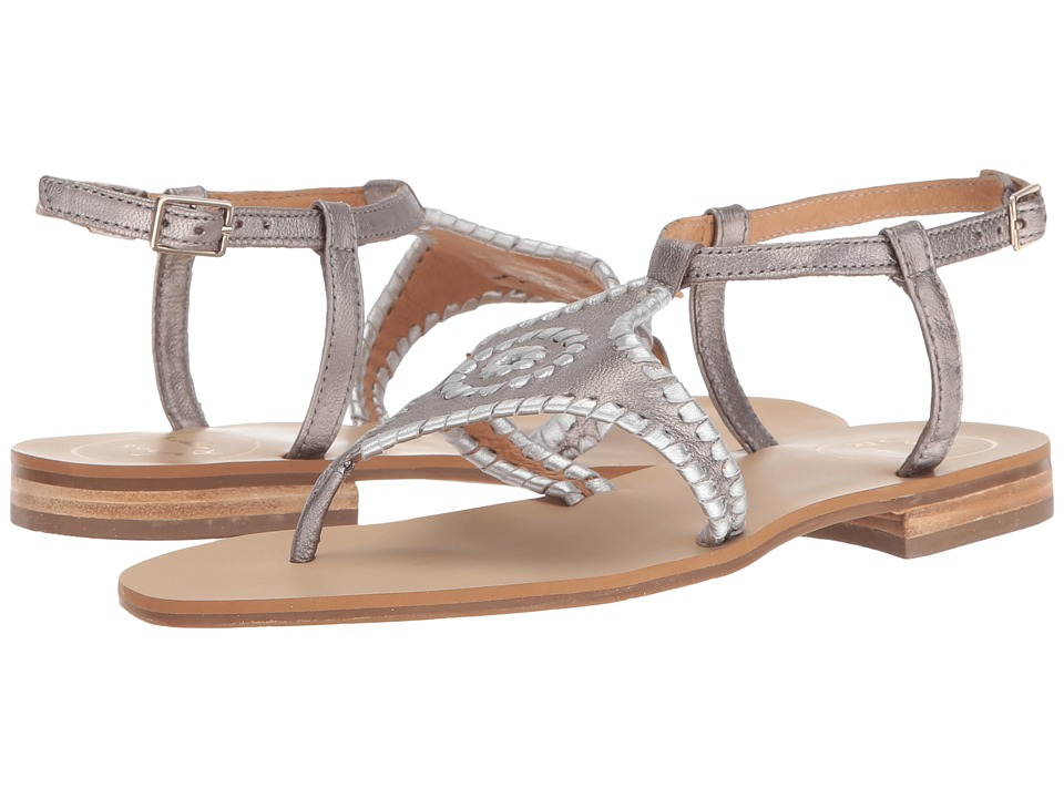 Jack Rogers - Maci (Pewter/Silver) Women's Sandals
