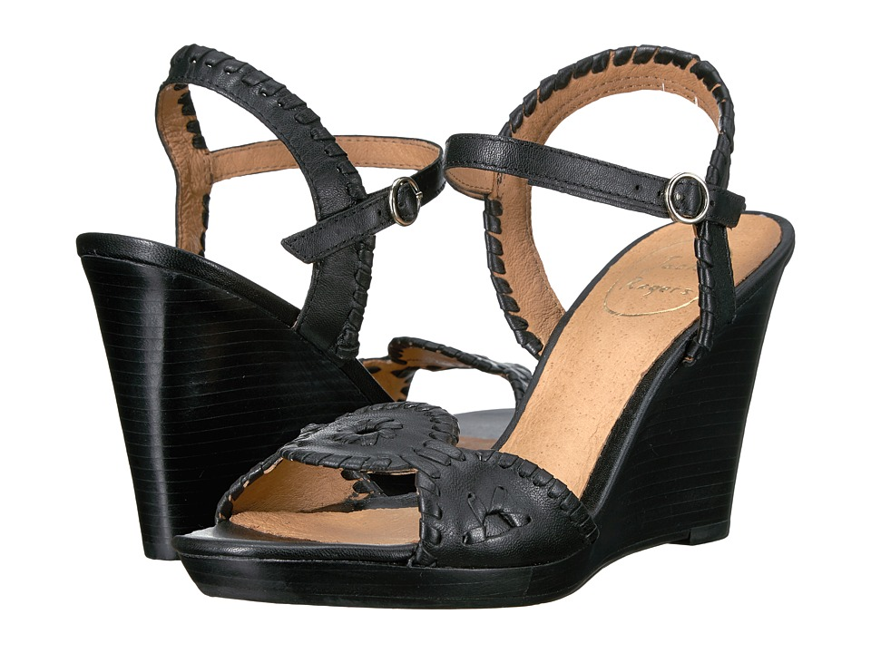 Jack Rogers - Clare (Black) Women's Dress Sandals