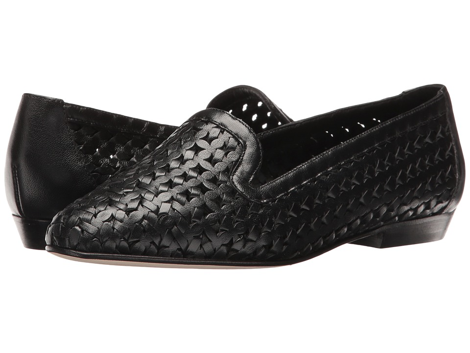 Sesto Meucci - Nefen (Black Nappa) Women's Slip on Shoes