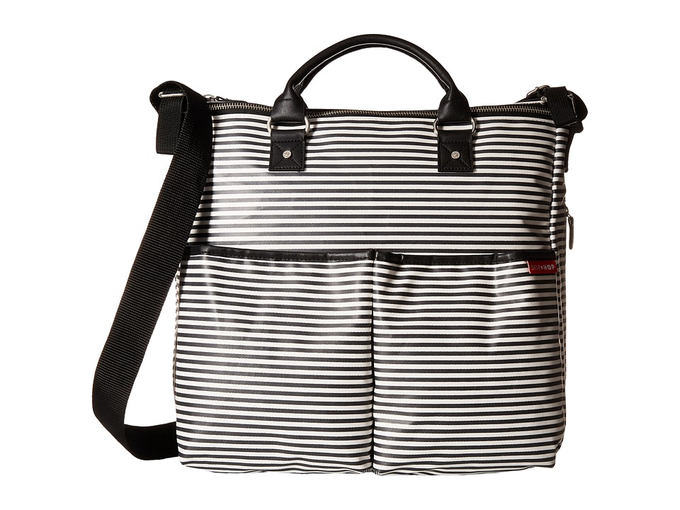 Skip Hop - Duo Special Edition Diaper Bag (Black/White Stripe) Diaper Bags