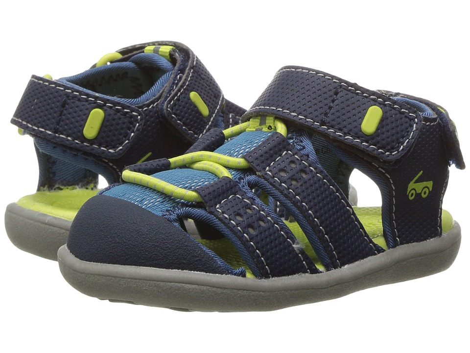 See Kai Run Kids Lincoln II (Toddler) (Navy) Boys Shoes