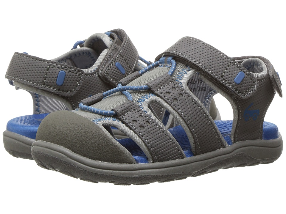 See Kai Run Kids Lincoln II (Toddler/Little Kid) (Gray) Boys Shoes
