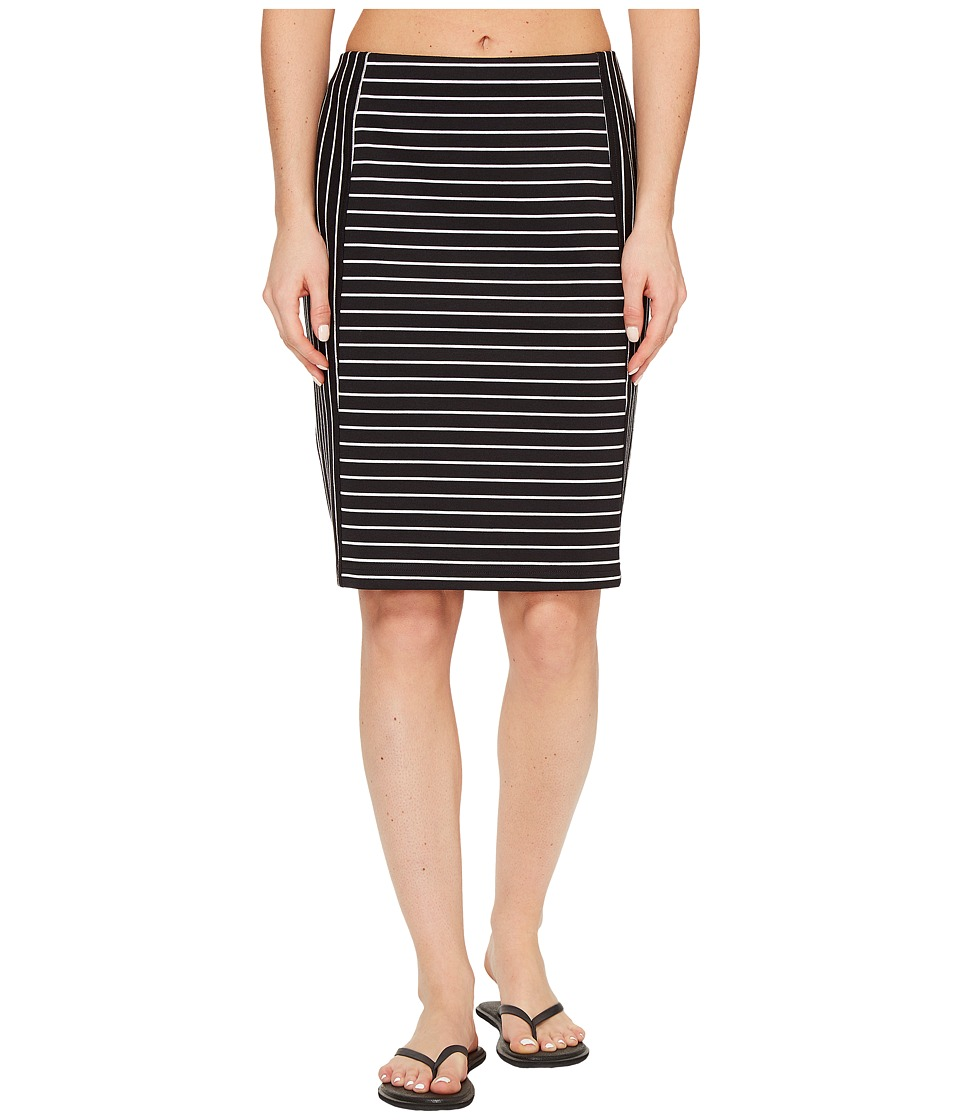 ExOfficio Odessa Skirt (Black/White) Women