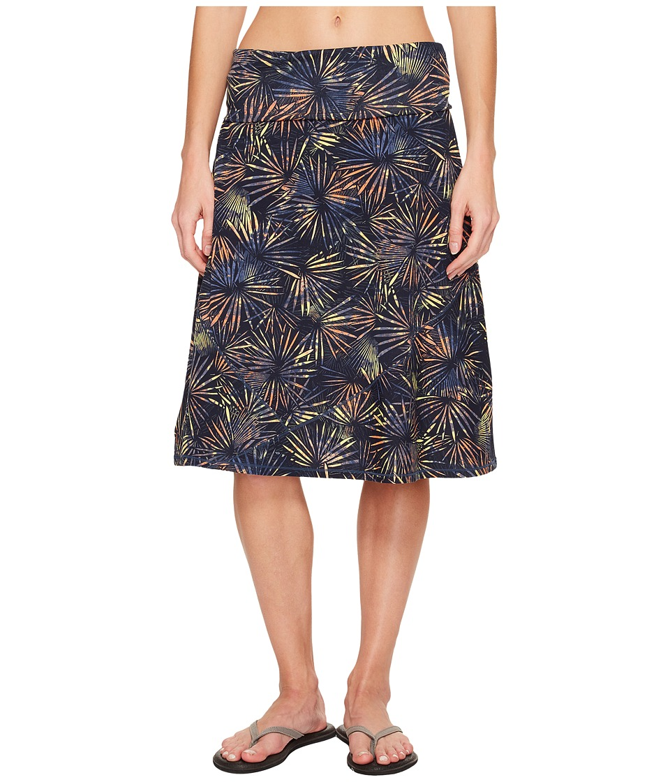 ExOfficio Wanderlux Convertible Skirt (Indigo) Women